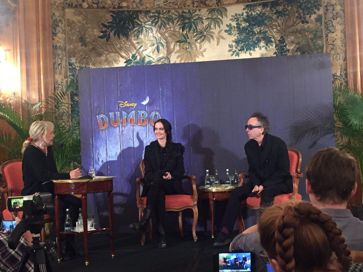 Eva Green et Tim Burton à Paris