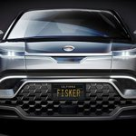 Image for the Tweet beginning: Fisker teases $40,000 electric crossover