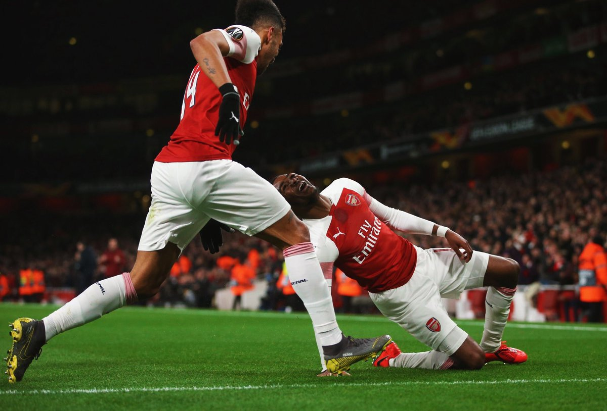 """Maitland-Niles: """"It means a lot to me &amp; my family. Growing up, playing for Arsenal was a dream come true. To score in a such a crucial game at a crucial time is fantastic as well."""" #afc<br>http://pic.twitter.com/PGWVAtVzl8"""