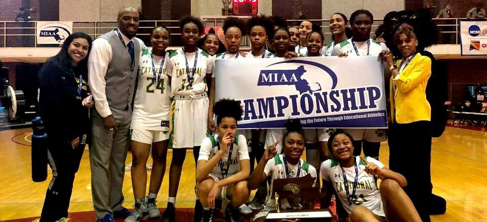 test Twitter Media - Congratulations to the Cathedral Panthers girls varsity basketball team who extended their dominance of division 4 basketball in Massachusetts, claiming their third state crown in four years. Read more:  https://t.co/OMlYw3xnso https://t.co/Zy8F8NXVVw