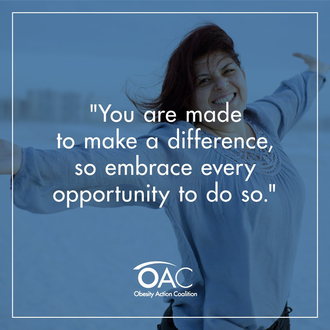 Every day is a new chance to make a difference, embrace it! #MotivationalMonday #OACAction<br>http://pic.twitter.com/5tTDWX2yfQ