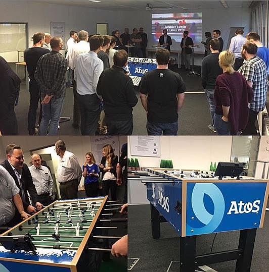 Letzte Woche fand das erste @Atos_AT iWuzzler Turnier mit unserem #IoT fähigen #Wuzzler mit...