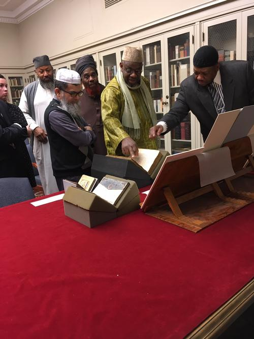 Today on our blog, we're looking at how our Special Collections department is exploring innovative programming to meet the cultural and educational needs of Philadelphia's Islamic populations. http://ow.ly/Oytm30o5wQt