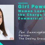 Check out our new top list in honor of #womenshistorymonth 👉🏼 Girl Power: #Women Leading the Charge in #CommercialRealEstate featuring Jen Cunningham Augustyn of @thedealeygroup   >> https://t.co/nBgiQlAENZ #CRE #CREtech #womenleaders #marketing #thecontentfunnel #leadership
