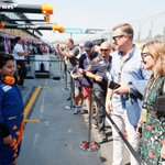 A massive thank you to our young @HiltonHonors mascot Dariyan for joining us in the garage for #AusGP.  An experience to remember! 🇦🇺🧡