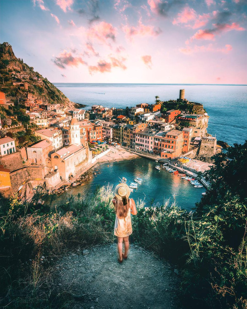 """The Heart Of Cinque Terre italia on twitter: """"there are five little villages on the"""
