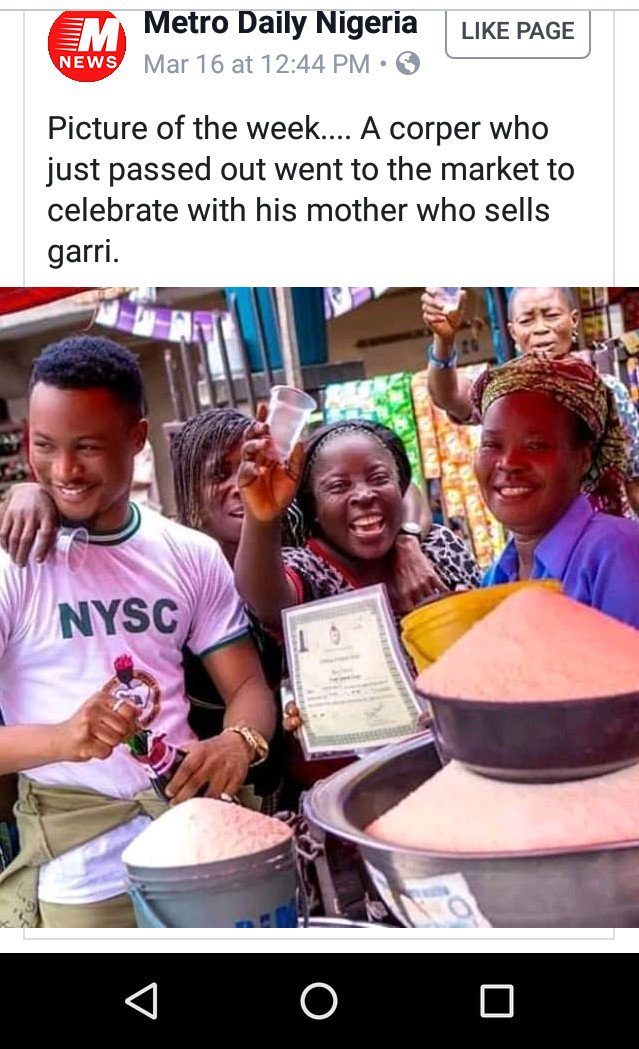 Wow, This is sweet abeg. God Bless our Mother's Hustle. @Gidi_Traffic