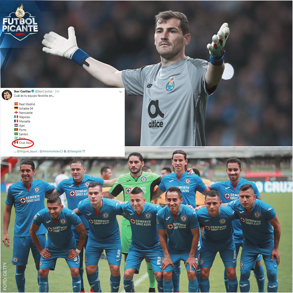 Futbol Picante's photo on Iker
