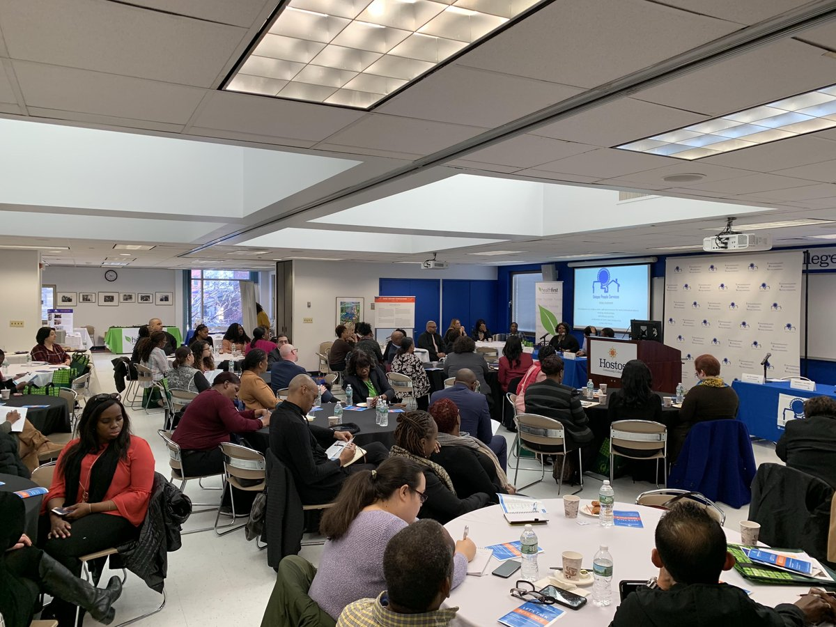 A full-house at the 2nd Annual #TraumeInformedCare event, at @HostosCollege, sponsored by @_UniquePeople.  #WeAreUnique