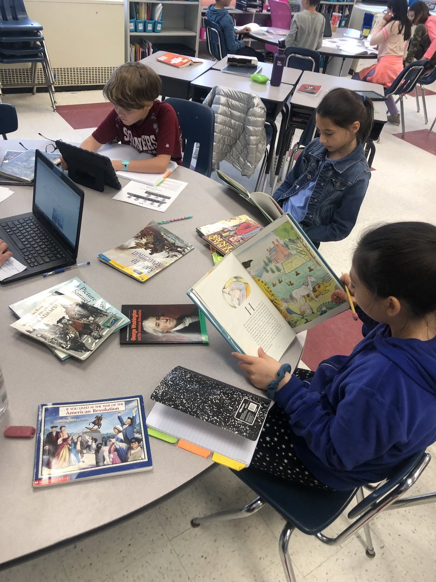 RT <a target='_blank' href='http://twitter.com/mswrigleysclass'>@mswrigleysclass</a>: These researchers are all ready to dive into their American Revolution projects! 📚 <a target='_blank' href='https://t.co/2kK3FAm6yB'>https://t.co/2kK3FAm6yB</a>