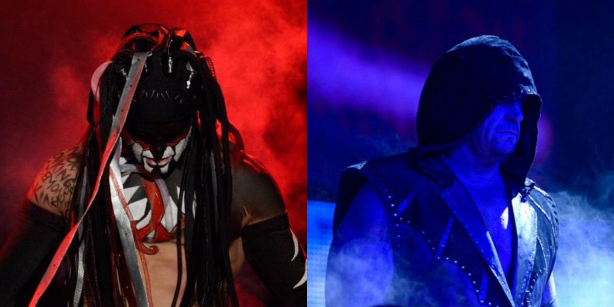 Report:   The Undertaker Has Requested Demon King Finn Bálor As His #WrestleMania Opponent As Taker Is Highly Interested In A Deadman vs Demon Match. WWE Is Discussing This Match And Is Undecided As To Having This Match This Year Or At #WrestleMania 36 In Tampa Bay Next Year