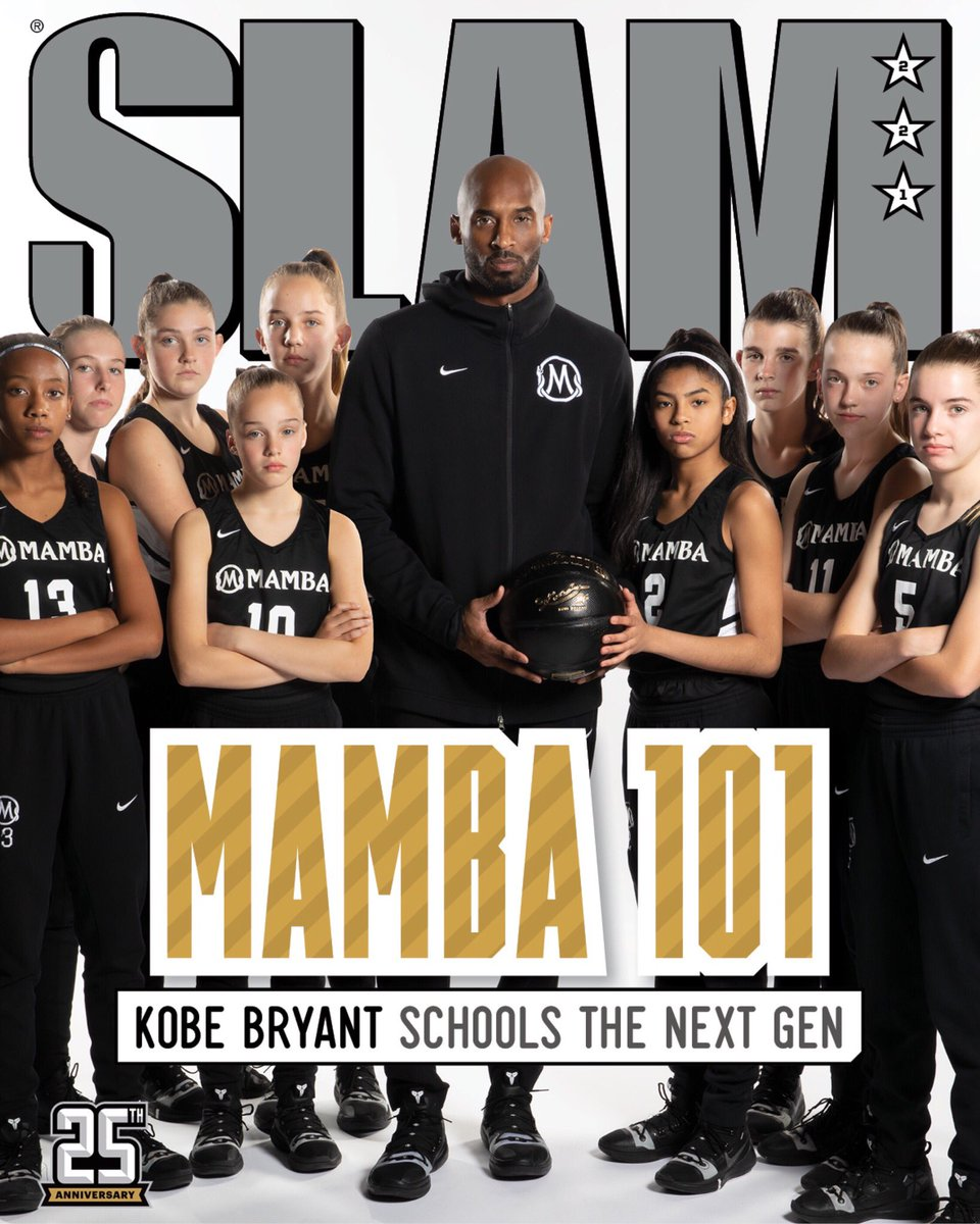 I'm honored to be in the position to inspire the next generation. Thank you @slamonline for the opportunity to share my vision. I hope you all enjoy the stories to come. http://bit.ly/2UKx1kY  #GranityStudios #Mambas #MambaMentality