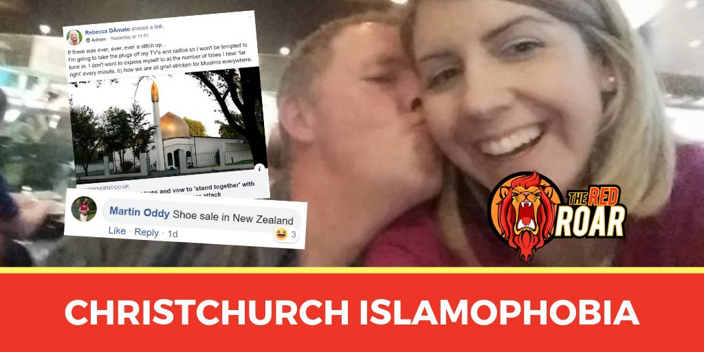 NEW: Tory Facebook groups have reacted to the Christchurch massacre with a wave of sick jokes and Islamophobic conspiracy theories. https://www.theredroar.com/2019/03/tory-groups-respond-to-christchuch-massacre-with-sick-jokes-and-conspiracy-theories/…