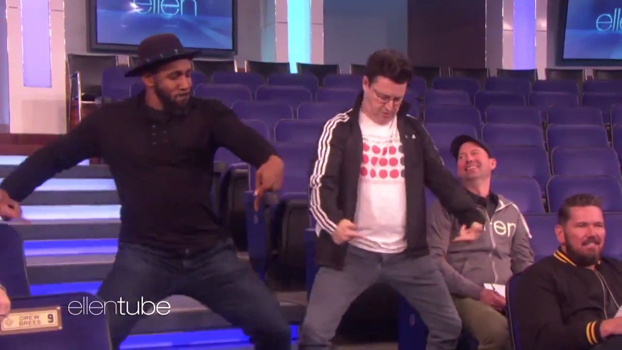 .@AndyLassner and @official_tWitch did this little dance for me in rehearsal. Andy is the one on the right. https://t.co/woovjQ3kfc