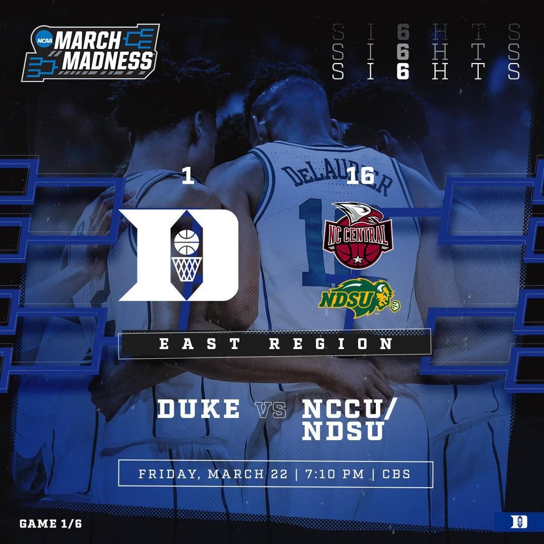 0-0. #HereComesDuke #SI6HTS 🕺 🏀 Duke vs. NCCU/NDSU 📍 Columbia, SC 🗓️ Friday 🕖 7:10 PM 📺 CBS
