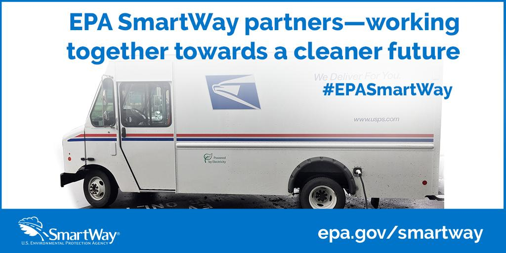 Https About Usps What We Are Doing Green Vehicles Htm And Www Epa Gov Smartway Program Successes Pic Twitter G9vhgpangv