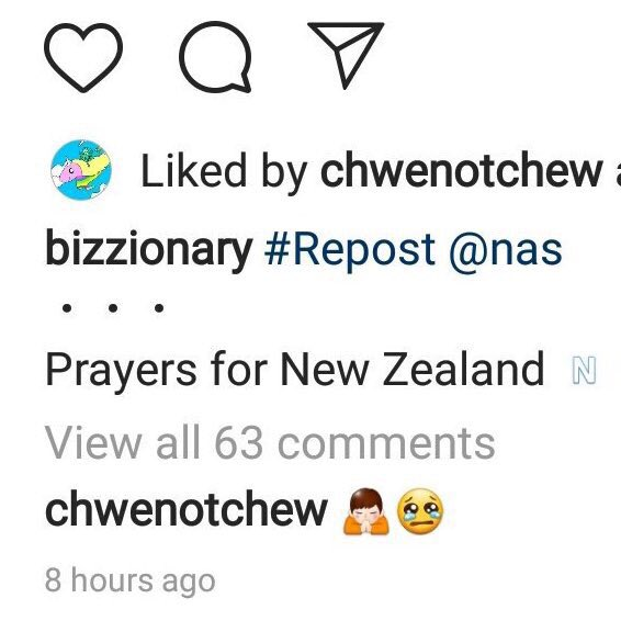 RT @OdoruHoshi: Vernon liked and commented on a post paying tribute to the mosque attacks in New Zealand https://t.co/wz5bf4ZDJv