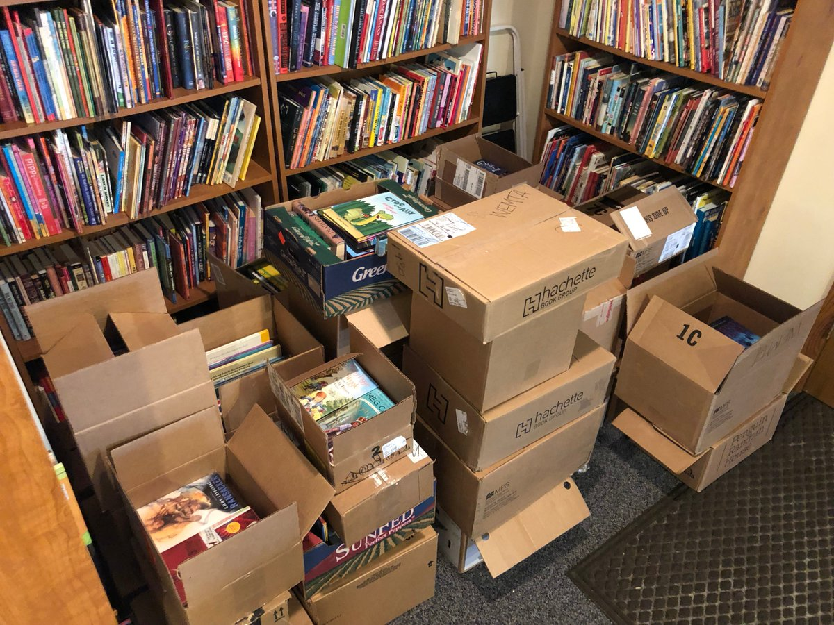test Twitter Media - Really excited for #WEMTA19! Donated books for the annual book sale are on the way 📚😍. Be sure to register at https://t.co/IEpCKLW9gS . Hope to see you there! https://t.co/2fMBoPYQ1Y