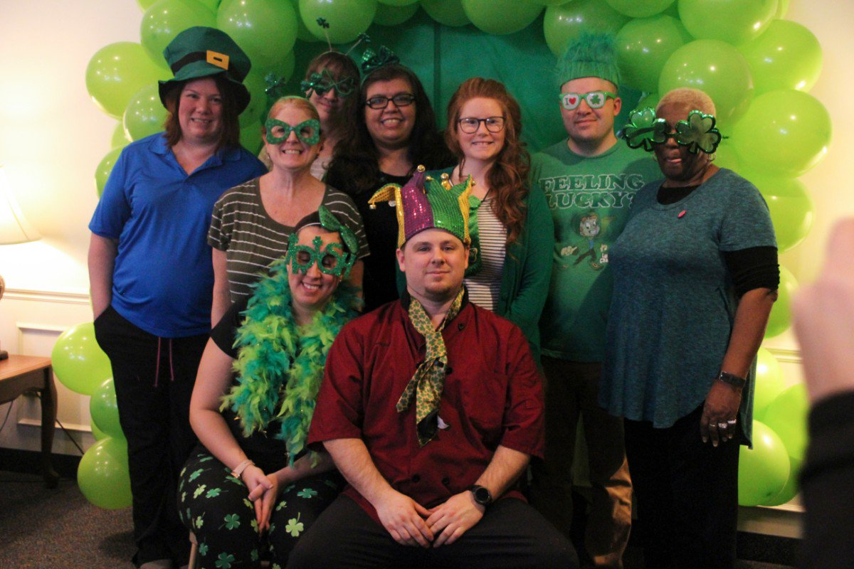 #YUM! Check out Rittenhouse Village At Portage's #StPattysDay celebration. 🍀🍽  <a href='https://t.co/ZBC5c5wlXc ' class='extra' target='blank'><i class='material-icons mdl-color-text--grey-400'>image</i></a><a href='https://t.co/cXEsM4av6R' class='extra' target='blank'><i class='material-icons mdl-color-text--grey-400'>image</i></a>