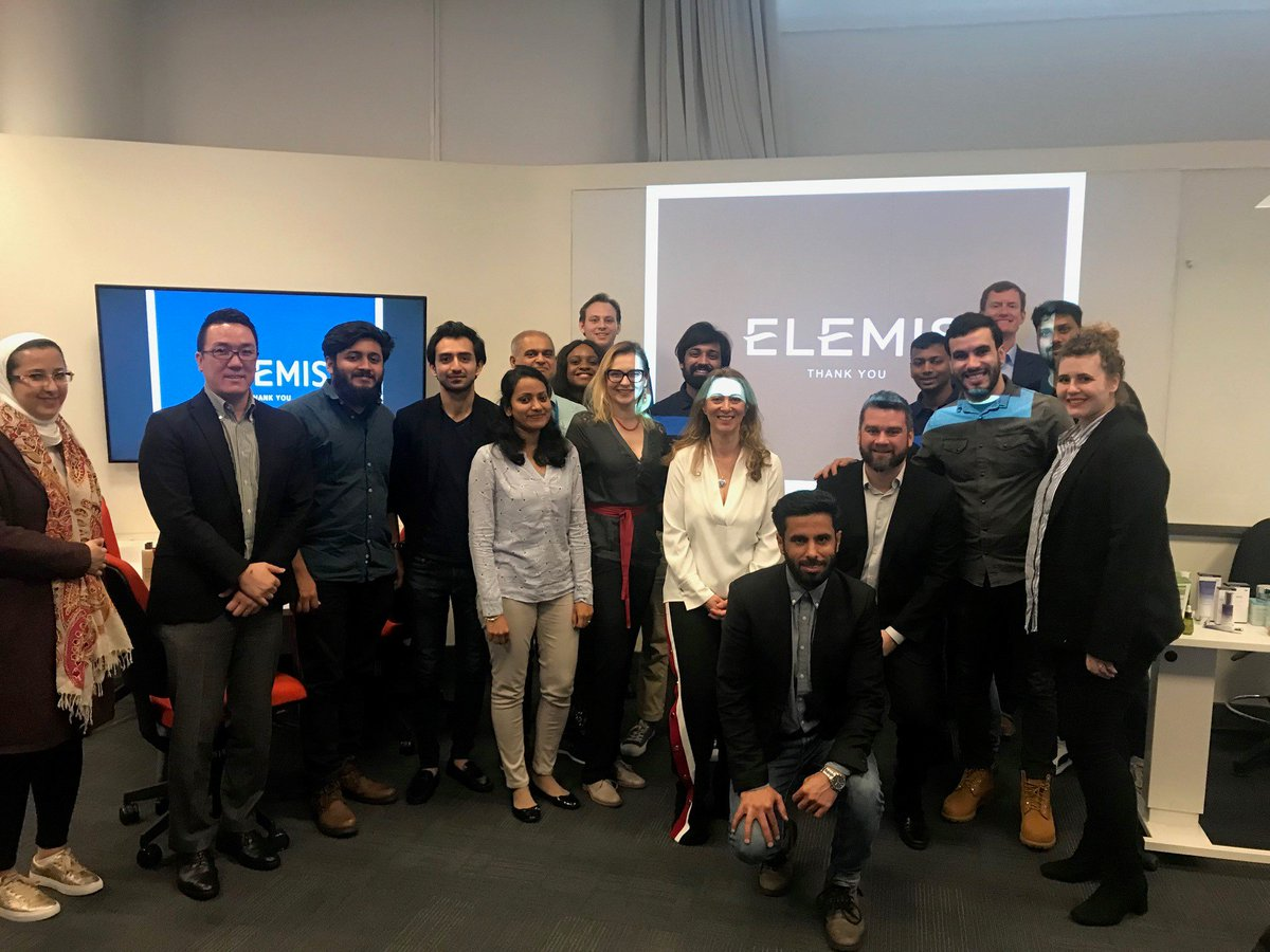 Thank you to alumna @Ofrankofficial, Chief Marketing Officer at @Elemis, who shared her industry insights with current MBA students at @KingstonUniBiz on Friday! Our students had a brilliant morning and came away feeling very inspired 👏 #KUproud #MadeinKingston https://t.co/4byTI33y7n