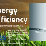 Image for the Tweet beginning: Energy efficiency.  #StayToastyWarm with #CGS