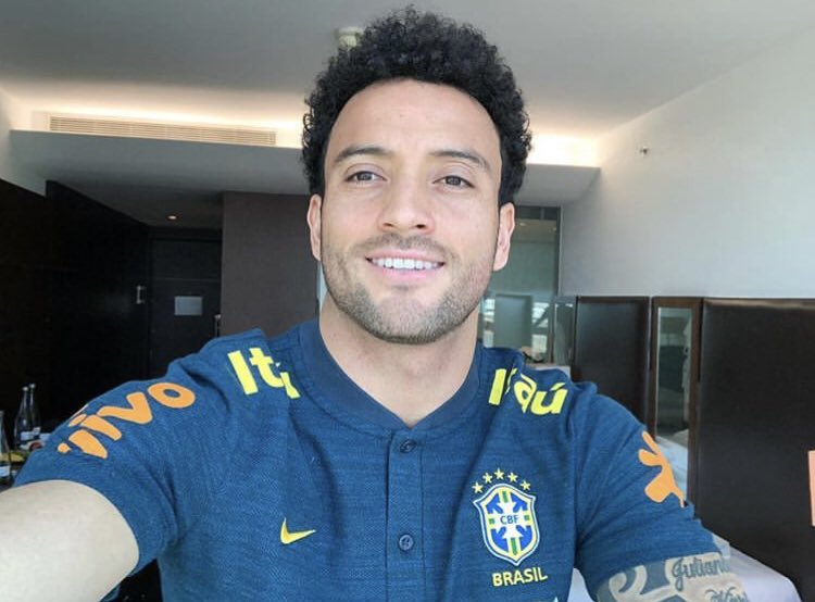 And here is Felipe Anderson rocking his Brazil gear having earned his first call up since the 2016 Olympics. https://t.co/oLTQz3zprY