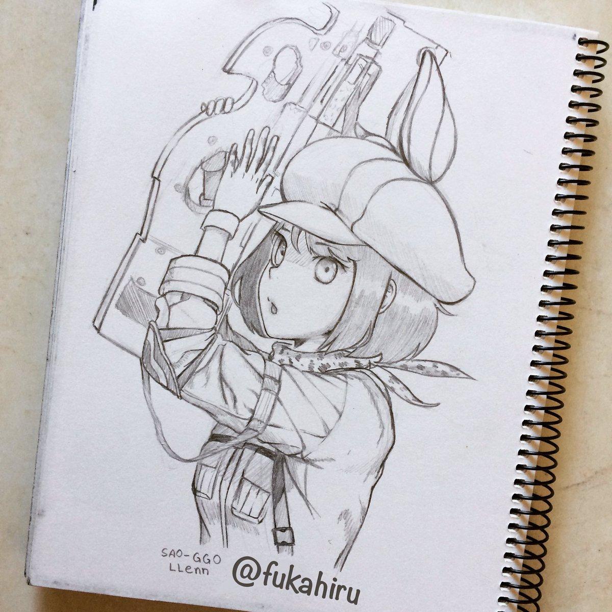 ~ LLENN ~  anime: sword art online alternative gun gale online  da rt ai pufavo   #SwordArtOnline #sao https://t.co/U4tv1EHRpR