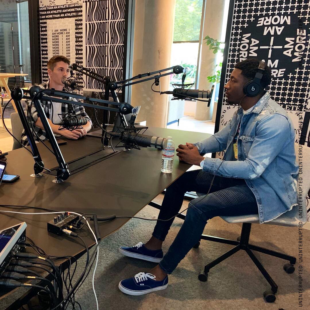 From NFL receiver to co-founder of @PolitiscopeApp, @SpeedKillz9 is definitely #MoreThanAnAthlete.  Listen to Walter Powell tell his story on our athlete-run podcast channel #WRTS: We Run This Station.  🎧: https://apple.co/2CpMa3T
