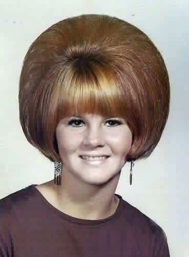 Anyone know how this #hairstyle was done?  #hair #hairsalon #1960s