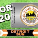 Image for the Tweet beginning: COME ON DETROIT SEASON TICKET PROMO Sun