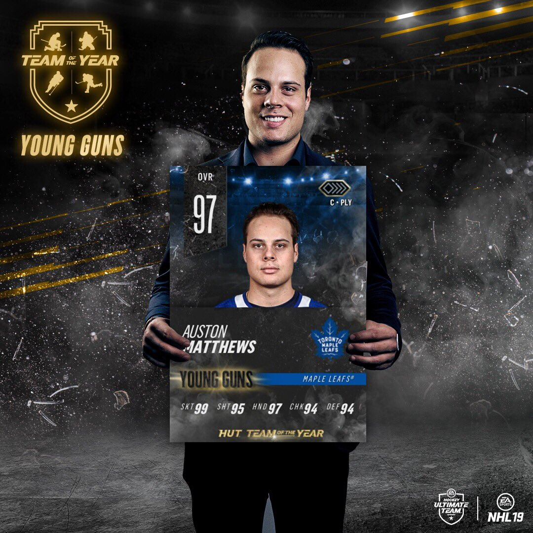Replying to @EASPORTSNHL: Who needs a Team of the Year Auston Matthews on their team? 🤩 Retweet for a chance to win!