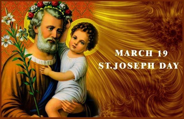 MARCH 19: HAPPY SAINT. #JOSEPH'S DAY, HAPPY #FATHER'S DAY