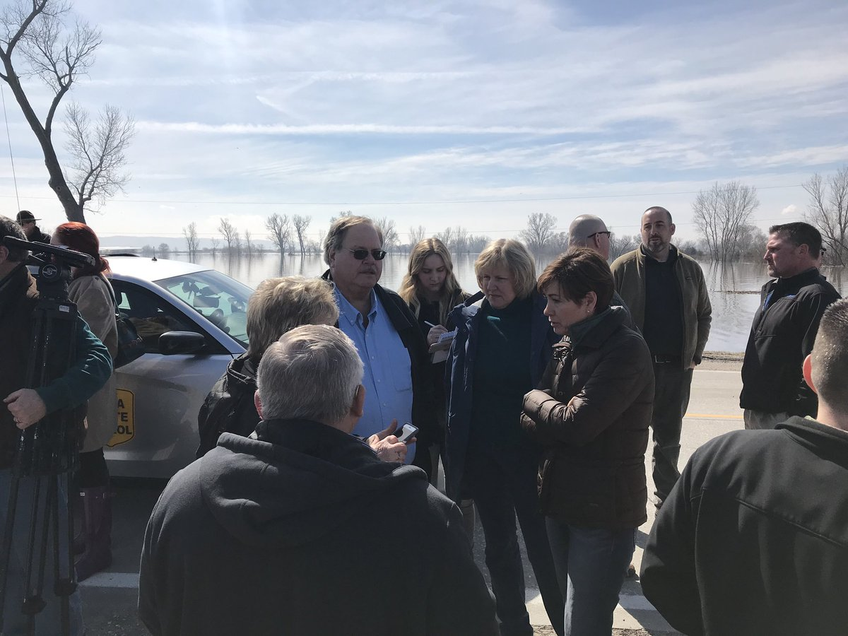 My team is staying in close contact with Governor Kim Reynolds (@IAGovernor) of Iowa and the local officials managing these floods. We support you and thank all of the first responders working long hours to help the great people of Iowa!