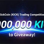 Image for the Tweet beginning: 💰💰💰 7,000,000 $KICK #giveaway in