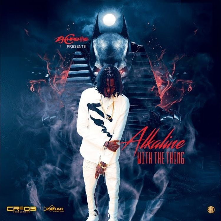 """#NowTrending 📈  New @thealkaline single """"With The Thing"""" Produced by @zjChrome   Listen: http://amack.it/alkwtt"""