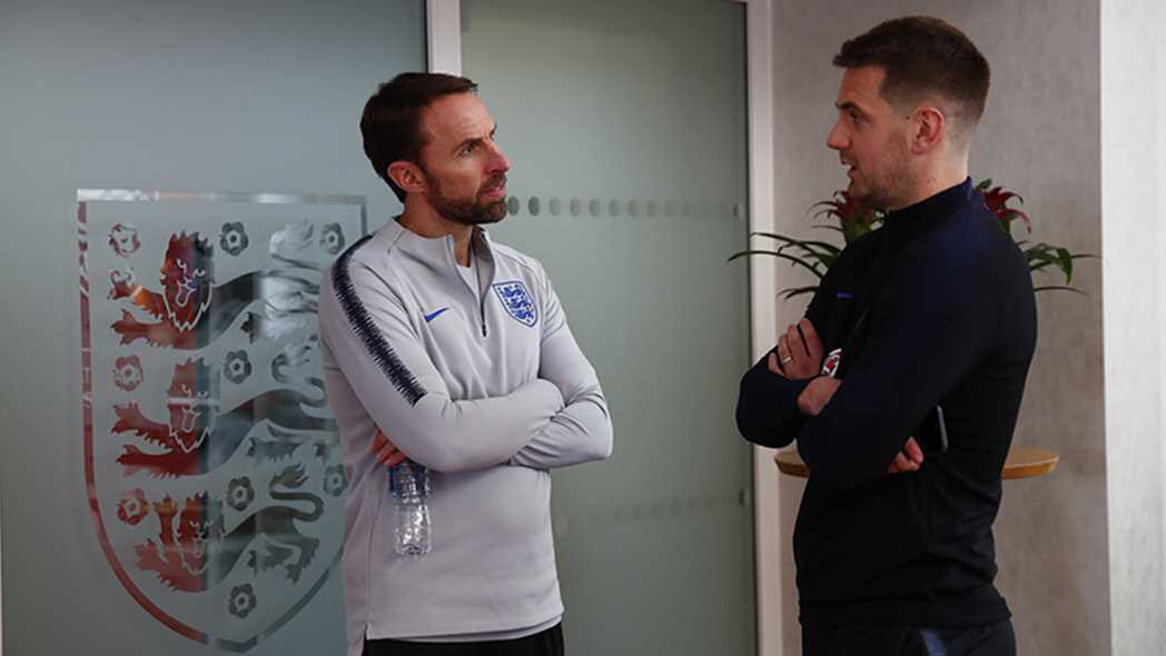 Look who's arrived at the England camp.   #twitterclarets #UTC<br>http://pic.twitter.com/nSZoBCG3Qi