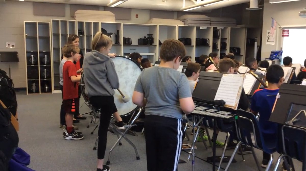 """""""Here is the 5th grade band practicing their new song Pirates' Cave, by Mark Williams."""" Thank you, Social Media Intern Estella!  🎶🎷 <a target='_blank' href='http://search.twitter.com/search?q=inMusicClass'><a target='_blank' href='https://twitter.com/hashtag/inMusicClass?src=hash'>#inMusicClass</a></a> <a target='_blank' href='http://search.twitter.com/search?q=ATSLearns'><a target='_blank' href='https://twitter.com/hashtag/ATSLearns?src=hash'>#ATSLearns</a></a> <a target='_blank' href='https://t.co/rKKxlo1pYo'>https://t.co/rKKxlo1pYo</a>"""