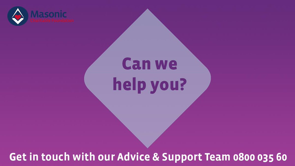 test Twitter Media - Last year our regionally-based staff helped 1,114 members of the masonic community with advice and support for a range of issues, incl. debt management and benefits. Are you struggling financially? Call us today 0800 035 60 90 or email help@mcf.org.uk #ConvoWeek #MondayMotivation https://t.co/M7AeUcxOg2