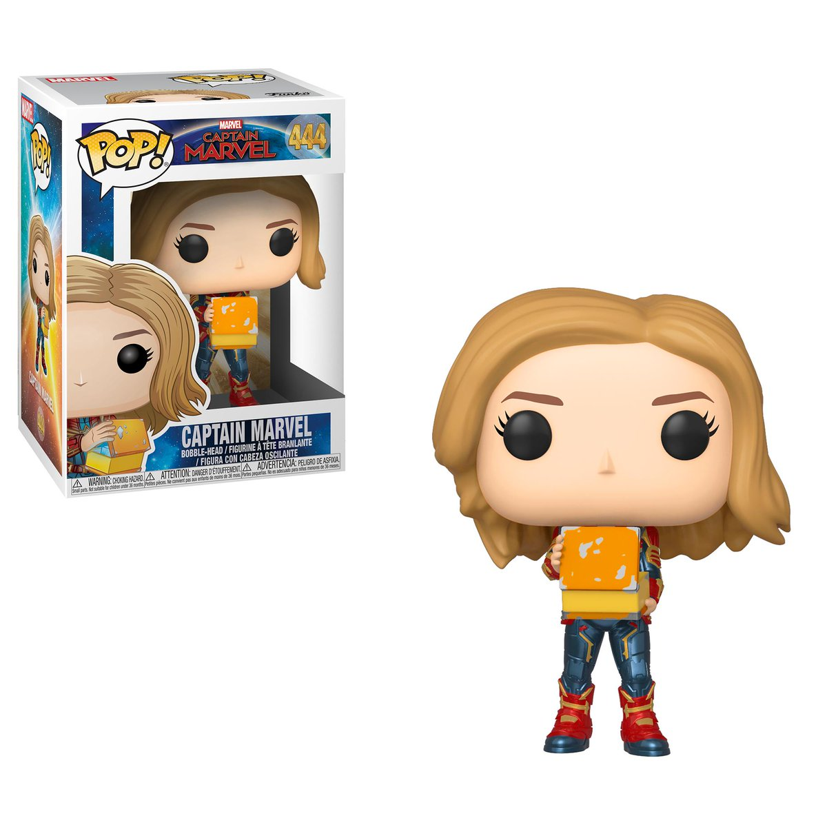 RT & follow @OriginalFunko for a chance to win a Captain Marvel Pop! #CaptainMarvel