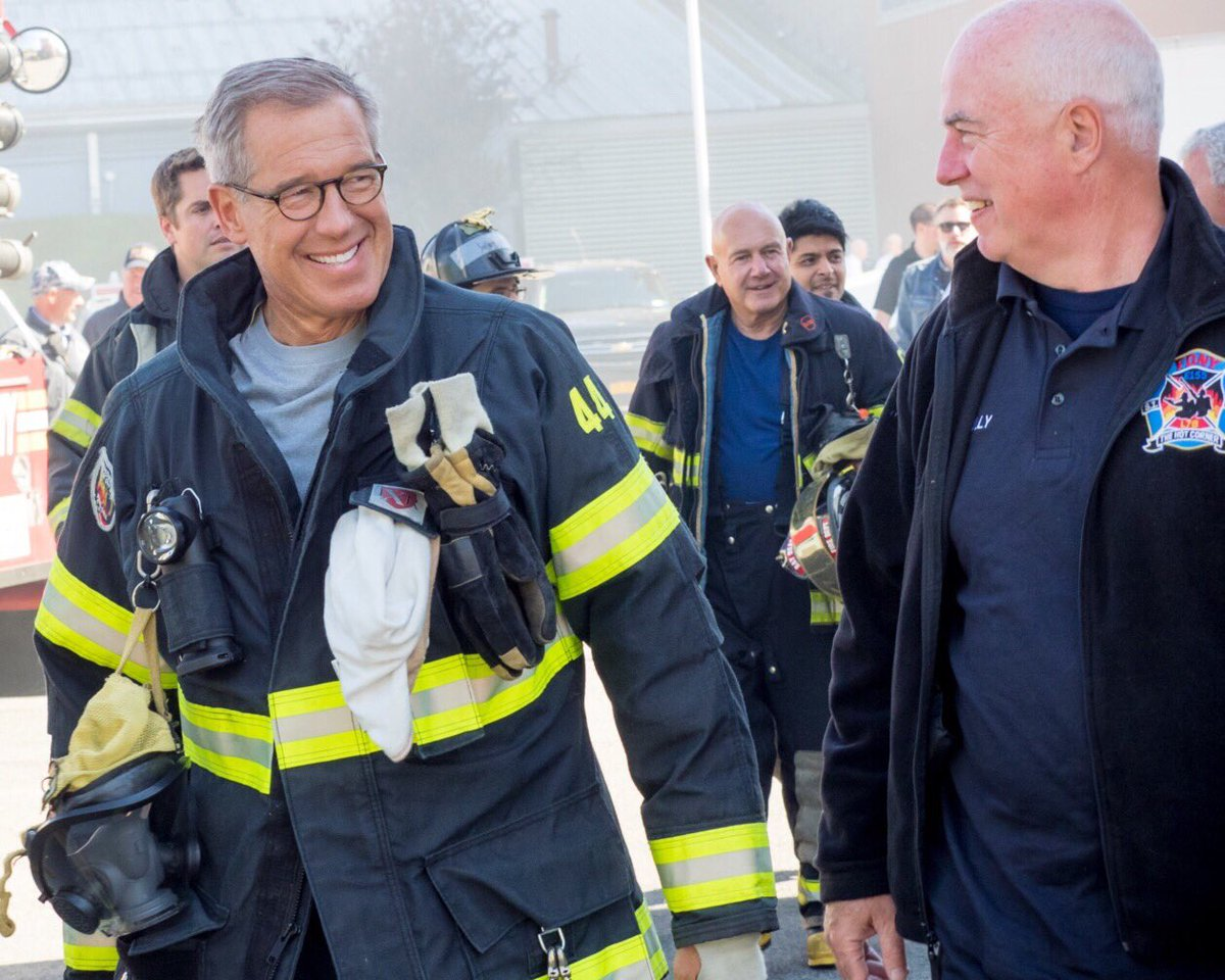 We are proud to have Brian Williams on our LFF Board.  He first became a volunteer firefighter at the age of 18 in New Jersey, where he is once again an active member, and often serves as our board&#39;s advocate for volunteer firefighting. #BraveEveryday.<br>http://pic.twitter.com/0Fma6jylXC