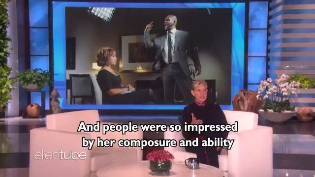 .@GayleKing can keep her cool during almost anything. https://t.co/UUr9qSsN80