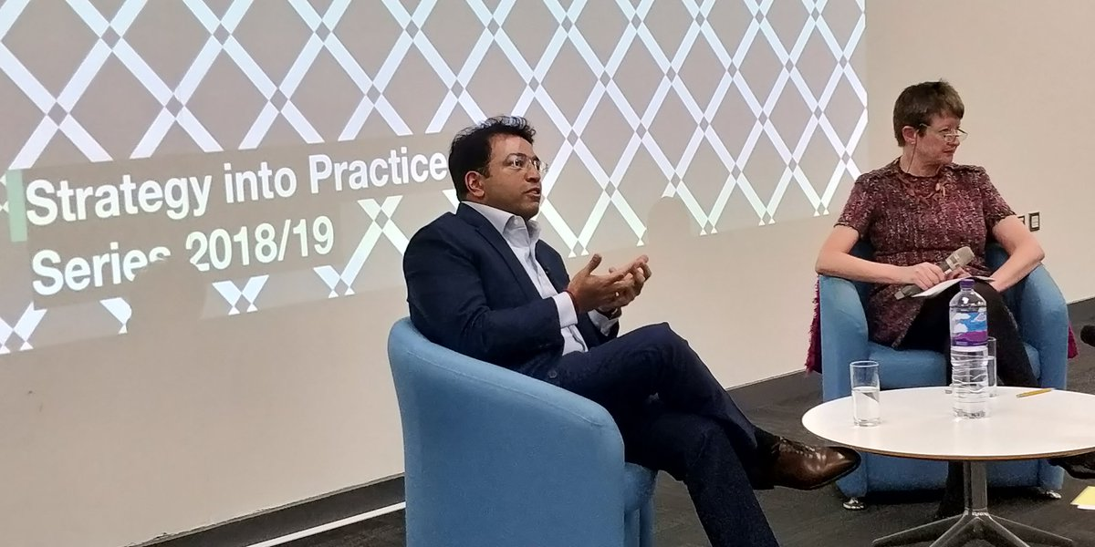 Strategy Into Practice @KingstonUniBiz - Q&A session w/ Yoganathan Ratheesan, founder of Lebara Group. #SiPevent https://t.co/g05jLy3x9W