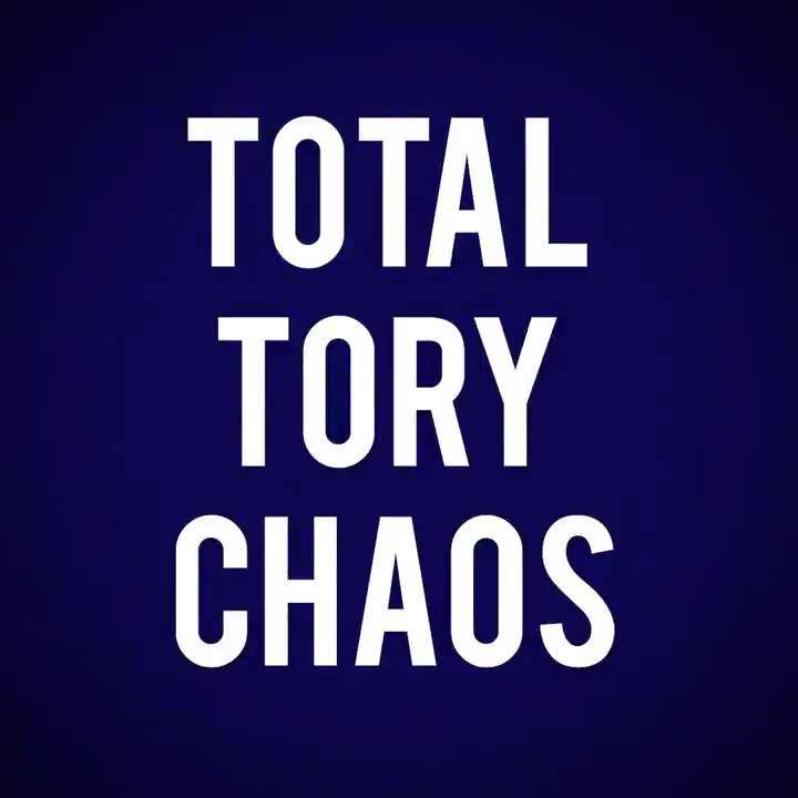 We expect chaos from the Tories. But this is taking it to a new level.  Take a look 👇