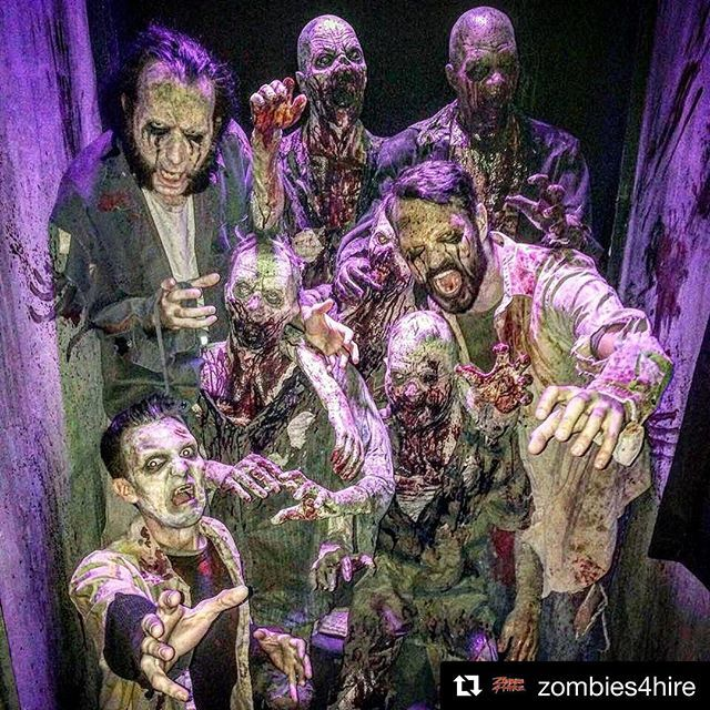 Did you see last night's @amcthewalkingdead?  This wasn't part of it, but a fun flashback from when I was a walker.  Don't worry; I've recovered. . . . . . @zombies4hire https://ift.tt/1FD4COw #z4h #zombies4hire #zombie #zombies #fearthewalkingdead #wa… https://ift.tt/2FaDDCBpic.twitter.com/oJcdTa85i7
