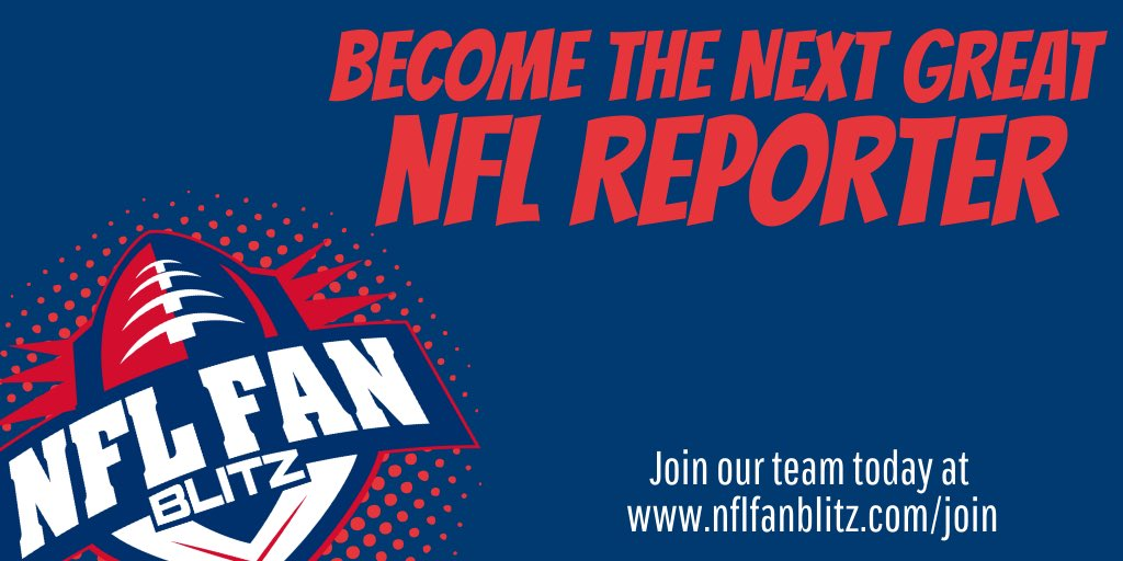 Are you interested in breaking into the NFL writing and reporting world? NFL Fan Blitz has several contributor openings for most NFL teams, the AAF, NFL Draft, and Fantasy Football! Apply online at  http:// NFLFanBlitz.com/join  &nbsp;  !<br>http://pic.twitter.com/fJniFWeM9S