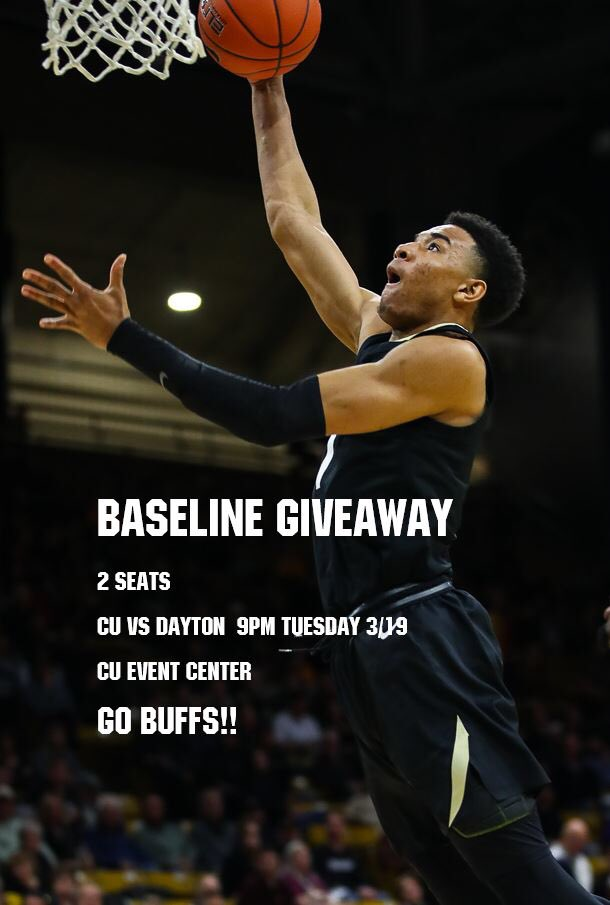Want a chance for 2 baseline seats for the NIT game tomorrow night? We got you! It's simple: 1️⃣Be a Buff Club Member  2️⃣Follow our page 3️⃣Retweet this (be sure your account is public) 4️⃣Wear your black and gold as the Buffs bring down the house! 🏀🏀Winner announced at 4pm today