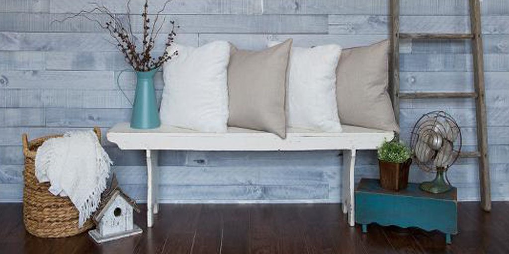 Shiplap is the perfect way to add texture, pattern and authentic charm to any space. Check out these steps to install your own: https://thd.co/2tBRjkP