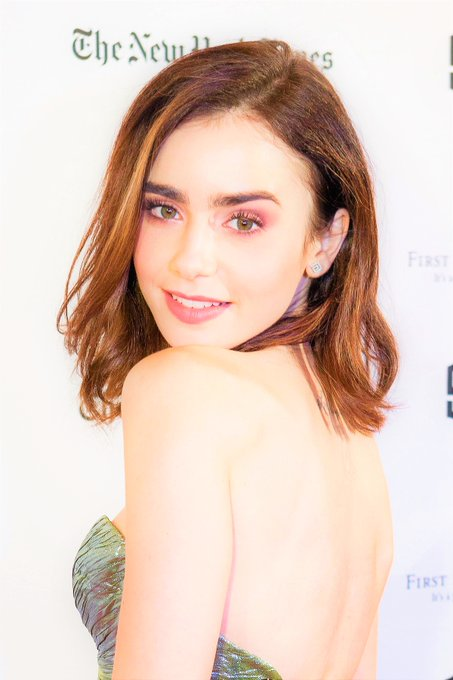 Happy 30th birthday to the beautiful Lily Collins.