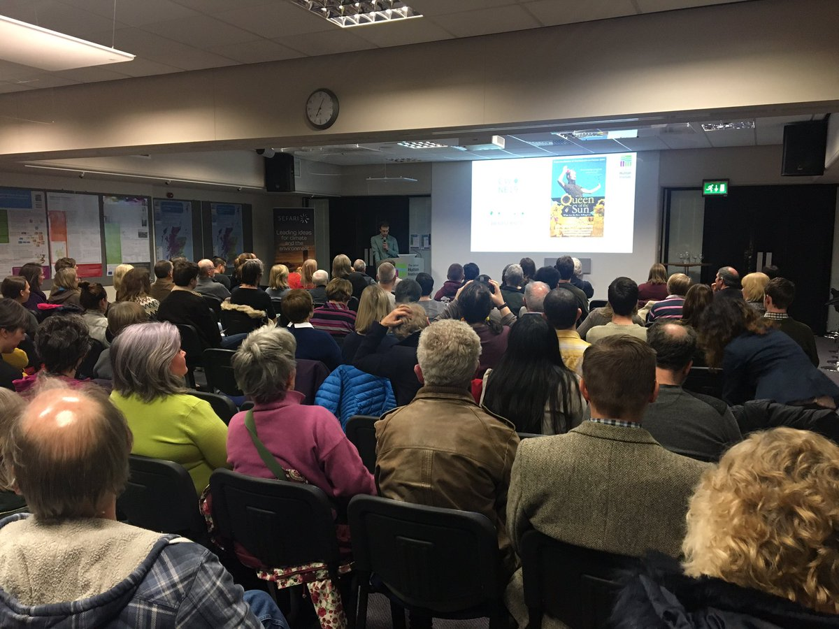 Great turnout for the screening of the Queen of the Sun at our Aberdeen site tonight #climateweek @AbzClimate. A warm welcome to all of our guests and we look forward to the alternative look at the global bee crisis from Taggart Siegel.