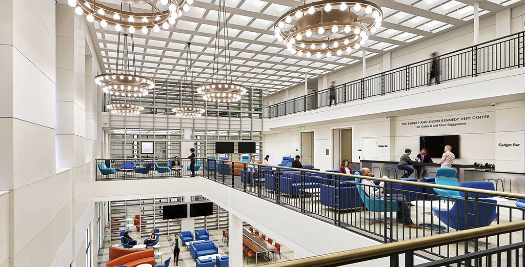 Celebrate Parkway Central Library's grand opening of our new spaces April 12–14, 2019, with special programming all weekend long! https://freelibrary.org/reimagined